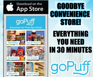 goPuff Delivery - iPhone App